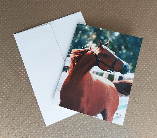 """Chestnut at Liberty 4""""x5"""" note cards"""